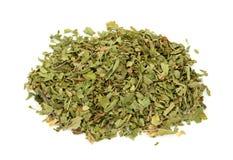 высушенный чай пипермента Стоковая Фотография