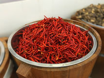 высушенный chili Стоковое Изображение
