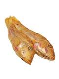 Высушенный goatfish. Изолировано. Стоковое Изображение RF