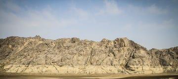 Высушенный River Valley Стоковое Изображение