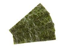 высушенный seaweed приправленный частями Стоковое фото RF