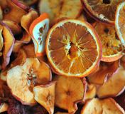 высушено - плодоовощ Стоковое Изображение