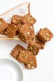 Высушите печенья плодоовощ Стоковое фото RF