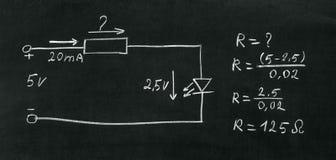 Высчитайте резистор Стоковые Изображения RF