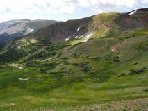 Высшая точка в национальном парке скалистой горы Стоковое Изображение RF