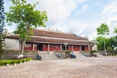 Высший дворец сработанности на цитадели оттенка Стоковая Фотография