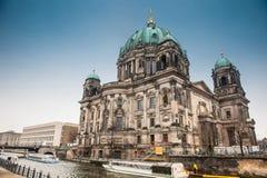 Высший приход и коллигативная церковь или также вызвали собор Берлина стоковые изображения rf