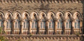 Высший суд Бомбея, Индия стоковое изображение rf