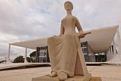 Высший федеральный суд в Brasilia стоковое фото