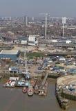 выслеживает остров london Стоковое Изображение RF