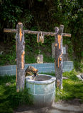 Выследите смотреть в водяную скважину Стоковые Изображения