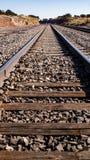 Вытаращиться вниз с поезда Стоковые Фото