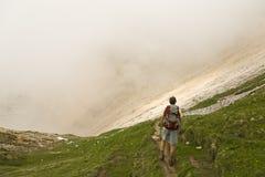 вытаращиться тумана Стоковая Фотография RF
