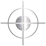 вытравленный снайпер металла Стоковая Фотография