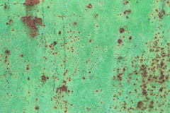 Вытравленная зеленая предпосылка металла Стоковое Изображение RF