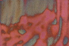 Вытравленная металлом предпосылка текстуры Стоковое Фото