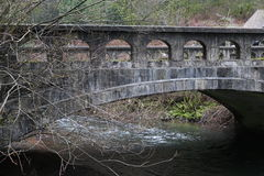 Вытравленный мост Стоковое фото RF