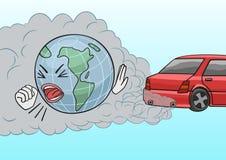 Вытыхание автомобиля Стоковые Изображения RF