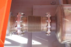 Вытыхание двигателя силы Стоковое Изображение RF