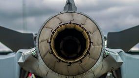 Вытыхание figher двигателя Стоковые Фотографии RF