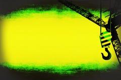 Шаблон крюка крана Стоковая Фотография RF