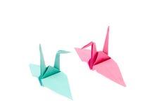 вытягивайте шею origami Стоковые Фотографии RF