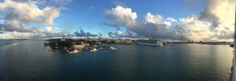 Вытягивать в порт Стоковые Фото