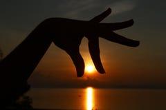 вытягивать солнце Стоковые Фотографии RF