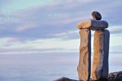 Вытянутые камни Стоковые Фотографии RF