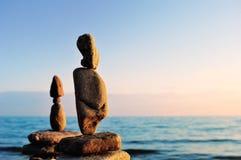 Вытянутые камни Стоковые Фото