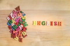 Выучите английскую концепцию стоковая фотография