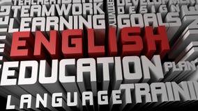 Выучите английский язык Стоковое Изображение RF