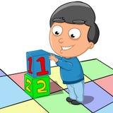 Выучите подсчитать иллюстрация вектора