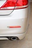 выхлопная труба автомобиля Стоковые Изображения RF