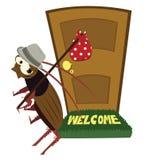 Выходить таракана Стоковая Фотография RF