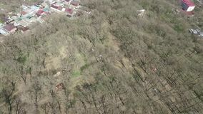 выходит валы Парк города Stavropol Россия предыдущая весна сток-видео