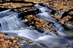 выходит водопад Стоковая Фотография