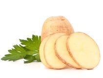 выходит клубни картошки петрушки Стоковая Фотография RF