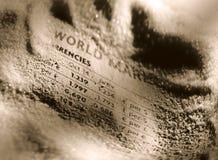 выходит мир вышед на рынок на рынок Стоковые Фотографии RF