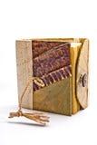 выходит тетради бумажный сбор винограда Стоковые Фото