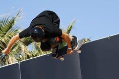 выходки скейтборда Стоковая Фотография
