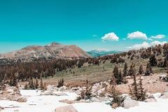 Выходные в Yosemite и национальном лесе Eldorado стоковое фото