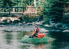 Выходные искусства волны Breckenridge Колорадо стоковые изображения