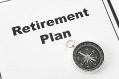 выход на пенсию плана Стоковая Фотография RF