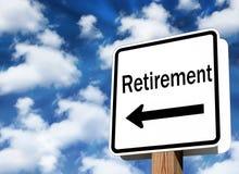 выход на пенсию стоковое изображение