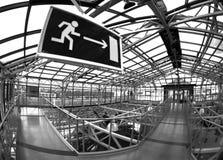 выход Стоковая Фотография RF