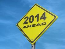 Выход 2014 Стоковое Изображение