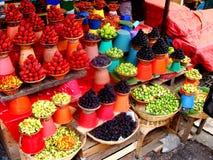 выходите мексиканца вышед на рынок на рынок Стоковые Фото