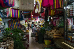 выходите мексиканца вышед на рынок на рынок стоковые изображения