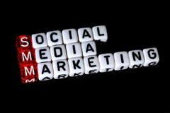 Выходить на рынок средств массовой информации SMM социальный Стоковое Изображение RF